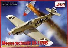 MESSERSCHMITT Bf 109 B (SPANISH AF & LUFTWAFFE MKGS) 1/72 AEROPLAST