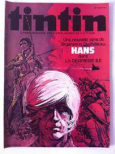 Journal de Tintin n°256 du 01/08/80; Les archives de Moulinsart/  Clifton/ Hans