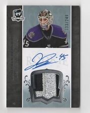 07-08 The Cup Jonathan Bernier Auto Sweet Patch Rookie Card RC #128 133/249