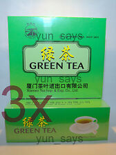 3 X Sea Dyke - Green Tea 100 Teabags  ** 3 Packages/300bags For £15.00p **