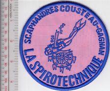 SCUBA Diving France La Spirotechnique Scaphandre Cousteau-Gagnan Female Diver Bl