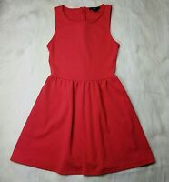 FOREVER 21 Womens Coral Pink Sleeveless Stretch Dress Size S SMALL
