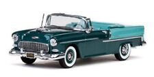 Vitesse 36296 1955 Chevrolet Bel Air Convertible Neptune Green 1/43 Scale T4Post