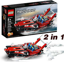 Lego Technic Power Speed Boat & Hydroplane 2in1 Model Construction Toy Kit 42089