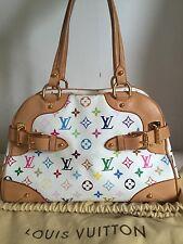 Authentic Louis Vuitton Monogram Multicolore Claudia Bag