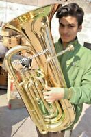 TUBA EB PITCH MADE OF PURE BRASS + HARD CASE + FREE SHIPPING @ DISCOUNTED PRICE