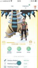 Pokémon Go Level 41 - 15 Shiny Legendaries - 112 100iv -205 Shinnies Shiny Riolu