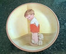 Davenport Pottery Plate Mabel Lucie Attwell Thank God For Fido No 461B 1988