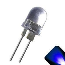 50 x LED 10mm Blue .5 Watt Ultra Super Bright High Power LEDs 0.5w half 1/2 Car