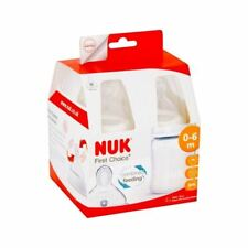6 x NUK First Choice Plus Fireworks 150ml Bottle Silicone Teat 4 per pack