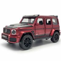 1:32 Brabus G700 V8 SUV Die Cast Modellauto Auto Spielzeug Model Sammlung Rot
