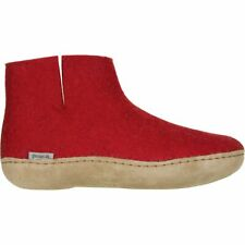Glerups The Boot Leather Slipper Red 36.0