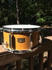 "Vintage 13"" Tama Artstar Snare - Gravure Amber wrapped birch 1990's RARE!!!!"