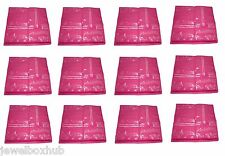 PINK BUNDLE SALE 12 PCS 2 INCH SAREE TRAVEL BAG SHIRT GARMENTS STORAGE COVER'S