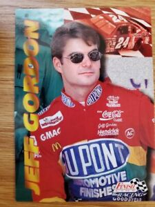 1996 Finishline 100 card set; Jeff Gordon, Rusty Wallace, Mark Martin & more