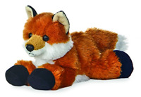 Stuffed Plush Animal Toy Super Soft Cuddly Little Fox Gift for Baby Kids Woman