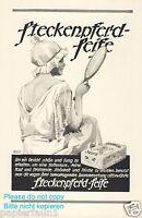 Steckenpferd Seife Reklame 1925 Dame Spiegel Nachthemd Abendtoilette abschminken