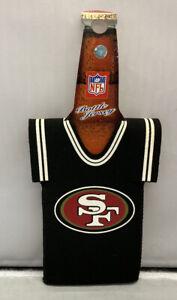 NFL San Francisco 49ers Football Team Jersey Bottle Holder Cooler Koozie NEW