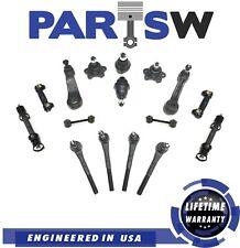 17 New Pc Steering Kit for C1500 Suburban Tahoe Yukon Inner & Outer Tie Rod Ends