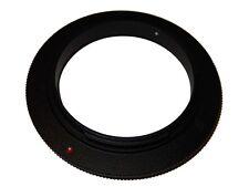 Anello di inversione / Adattatore Macro 58mm vhbw per Nikon D80,D90, D100, D200