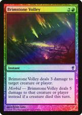 Brimstone Volley FOIL Conspiracy NM Red Common MAGIC GATHERING CARD ABUGames