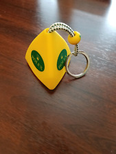 Rolex Yellow Floating Buoy Key Ring