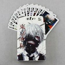 New Tokyo Ghoul Cosplay Anime Painting Playing Cards Poker 54ps With Box