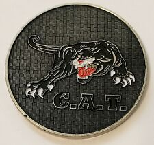 Counter Assault Team Secret Service CAT Military Challenge Coin 2.25