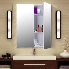 Homcom Bademöbel Spiegelschrank Badeschrank Hängeschrank Badezimmer