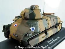 SOMUA S-35 TANK MODEL ARMY MILITARY 1940 FRANCE 1:43 SCALE IXO K8