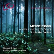 London Symphony Orch & Gardiner - Mendelssohn: A Midsum (NEW SACD+BLU-RAY AUDIO)