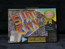 Sim City Brand New Factory Sealed Super Nintendo SNES USA