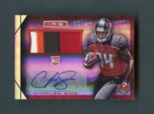 2014 Charles Sims Panini Rookies & Stars RC 4-Color Patch Auto /25 SP