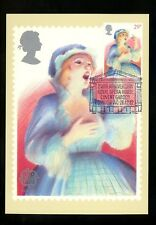Postal History FDC #990 Great Britain Music Related PHQ Card Opera Europa 1982