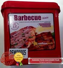 Middleton Foods BBQ Glaze 2.5kg - Red Tub Glaze - Ideal For Butchers and Hotels