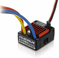 HobbyWing QuicRun 1:10 Waterproof Brushed 60A ESC 4WD RC Car Buggy Touring 1060