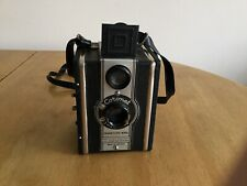 Vintage Coronet TWELVE-20 Box Camera 120 Roll Film with Canvas Camera Case