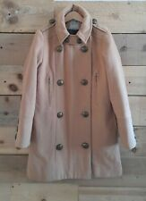 Girls Next Military Style Tan Winter Coat - Age 11 - Height 146cm