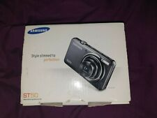 Samsung ST50 Digital Camera Box Charger Aux Lead Battery and Setup Disc Only