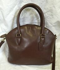 Coach 4412 Bristol Madison Full Grain pebbled leather handbag shoulder bag Italy