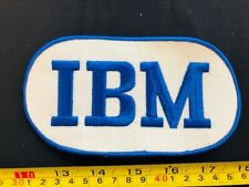 VTG Embroidered patch IBM company security internal computer IT nerd tech gaming