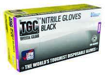 Black Nitrile TGC Disposable Gloves Heavy Duty Mechanics Painter