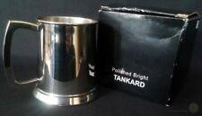 Polished Bright 1 Pint Tankard Script Engraved JK | FREE Delivery UK*