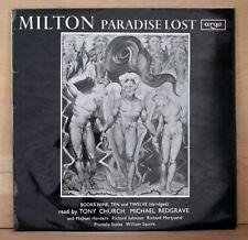 1967 Argo British Import MILTON vinyl album PARADISE LOST super clean LP ex+