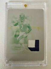 2019 National Treasures RAY LEWIS Century Materials Printing Plate Patch #1/1