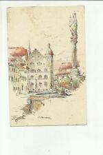 137896 stupenda cartolina artistica illustrata da o. borsani