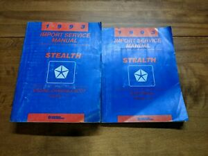 Repair Manuals Literature For Dodge Stealth For Sale Ebay