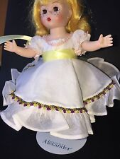 """Madame Alexander Accessories Original White  dress with shoes for 8"""" doll"""