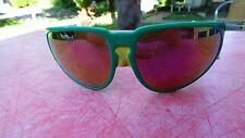 lunettes de soleil vintage Cebe glacier  sunglasses vertes