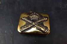 1ww trench art machine gun corp soldiers snuff box